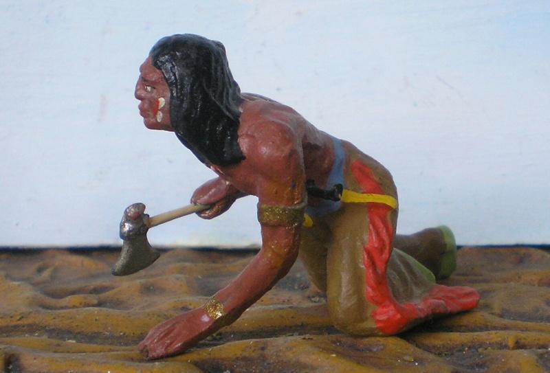 Bemalungen, Umbauten, Modellierungen – neue Indianer für meine Dioramen - Seite 5 Elasto39