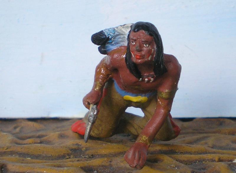 Bemalungen, Umbauten, Modellierungen – neue Indianer für meine Dioramen - Seite 5 Elasto40