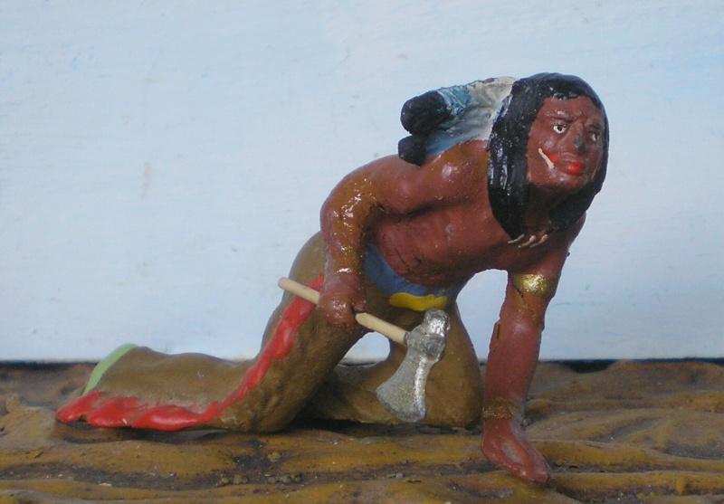 Bemalungen, Umbauten, Modellierungen – neue Indianer für meine Dioramen - Seite 5 Elasto41