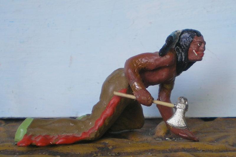 Bemalungen, Umbauten, Modellierungen – neue Indianer für meine Dioramen - Seite 5 Elasto42