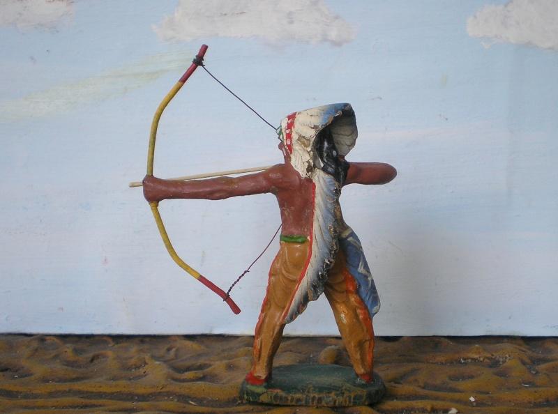 Bemalungen, Umbauten, Modellierungen – neue Indianer für meine Dioramen - Seite 5 Elasto47