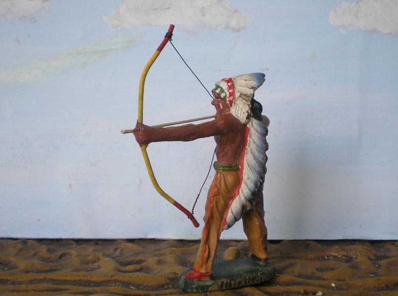 Bemalungen, Umbauten, Modellierungen – neue Indianer für meine Dioramen - Seite 5 Elasto48