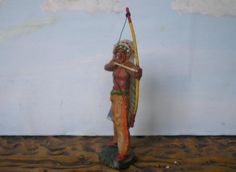 Bemalungen, Umbauten, Modellierungen – neue Indianer für meine Dioramen - Seite 5 Elasto49