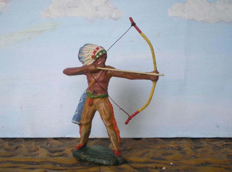 Bemalungen, Umbauten, Modellierungen – neue Indianer für meine Dioramen - Seite 5 Elasto50