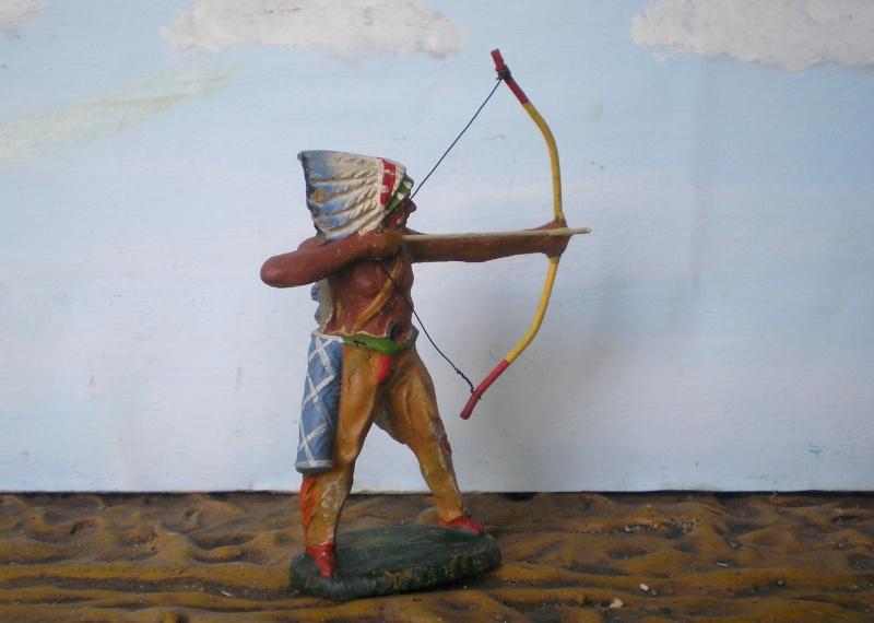Bemalungen, Umbauten, Modellierungen – neue Indianer für meine Dioramen - Seite 5 Elasto52