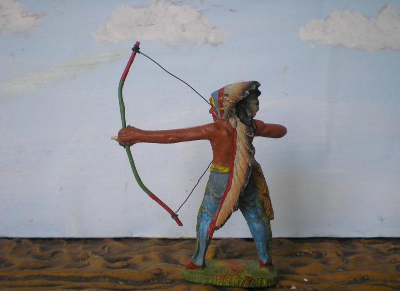 Bemalungen, Umbauten, Modellierungen – neue Indianer für meine Dioramen - Seite 5 Elasto64