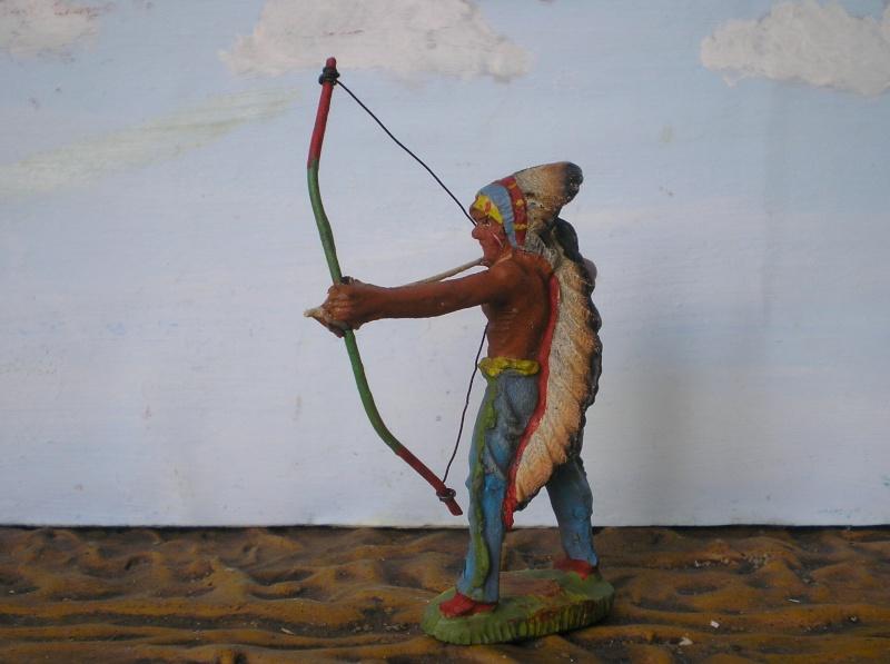 Bemalungen, Umbauten, Modellierungen – neue Indianer für meine Dioramen - Seite 5 Elasto65