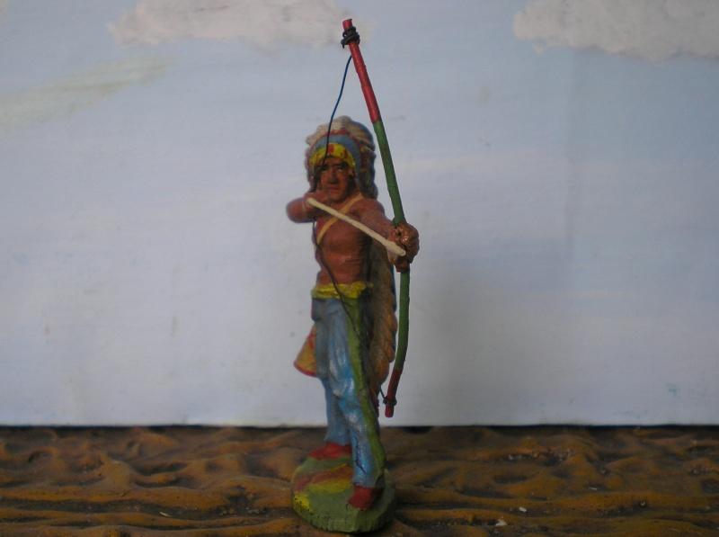 Bemalungen, Umbauten, Modellierungen – neue Indianer für meine Dioramen - Seite 5 Elasto66