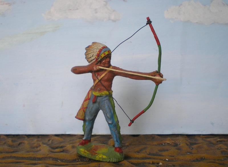 Bemalungen, Umbauten, Modellierungen – neue Indianer für meine Dioramen - Seite 5 Elasto67