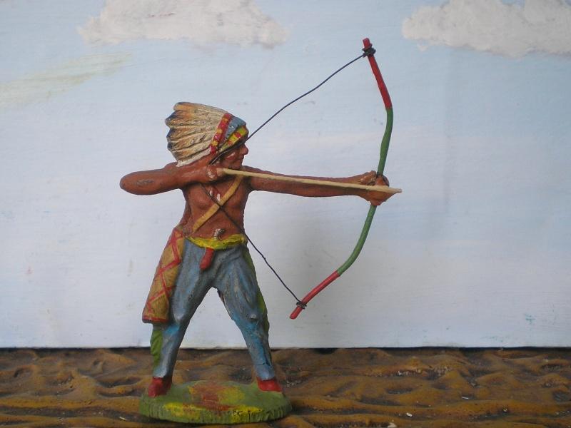 Bemalungen, Umbauten, Modellierungen – neue Indianer für meine Dioramen - Seite 5 Elasto68