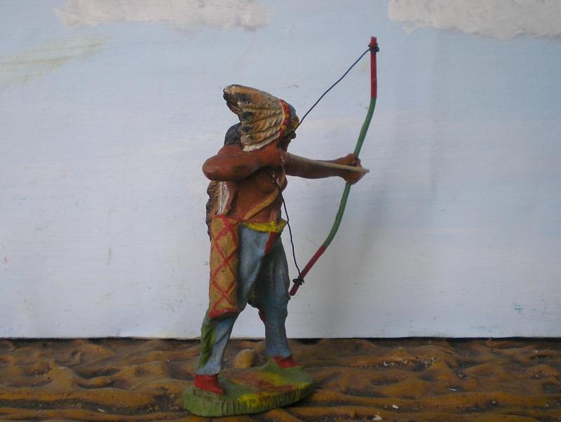 Bemalungen, Umbauten, Modellierungen – neue Indianer für meine Dioramen - Seite 5 Elasto69