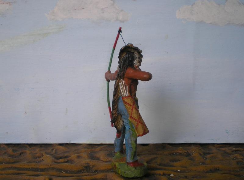Bemalungen, Umbauten, Modellierungen – neue Indianer für meine Dioramen - Seite 5 Elasto70