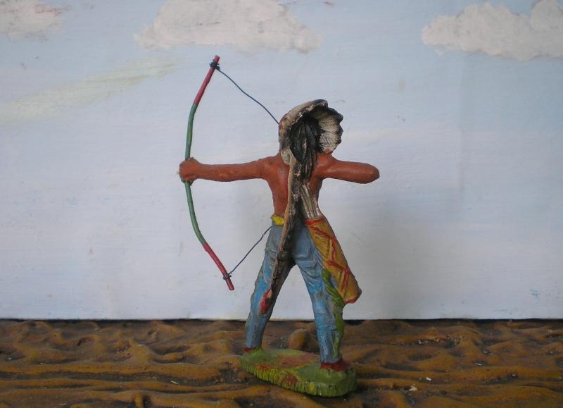 Bemalungen, Umbauten, Modellierungen – neue Indianer für meine Dioramen - Seite 5 Elasto71