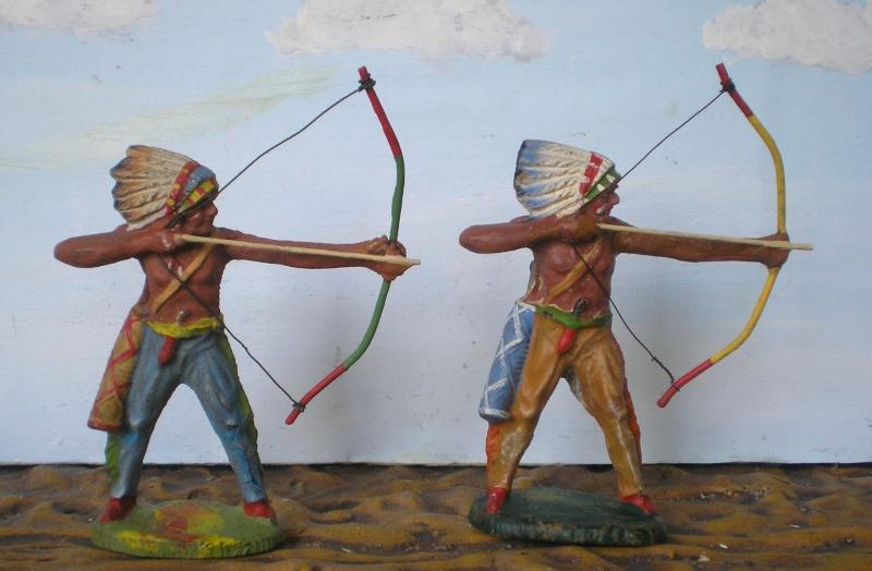 Bemalungen, Umbauten, Modellierungen – neue Indianer für meine Dioramen - Seite 5 Elasto72