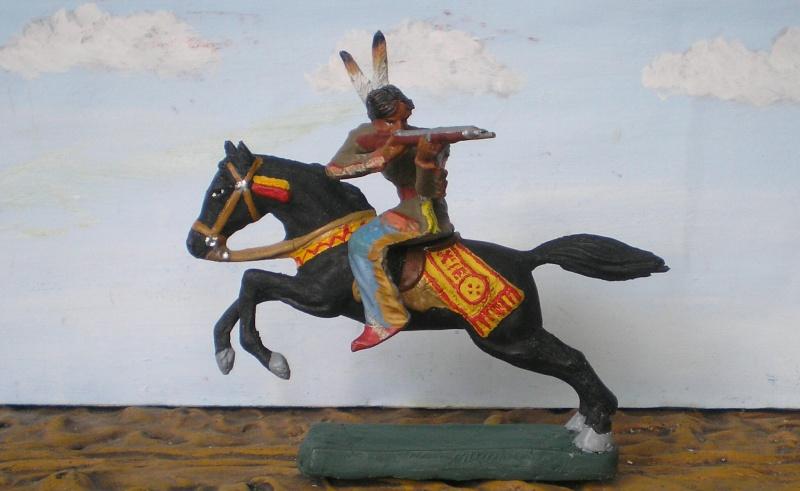 Bemalungen, Umbauten, Modellierungen – neue Indianer für meine Dioramen - Seite 5 Elasto74