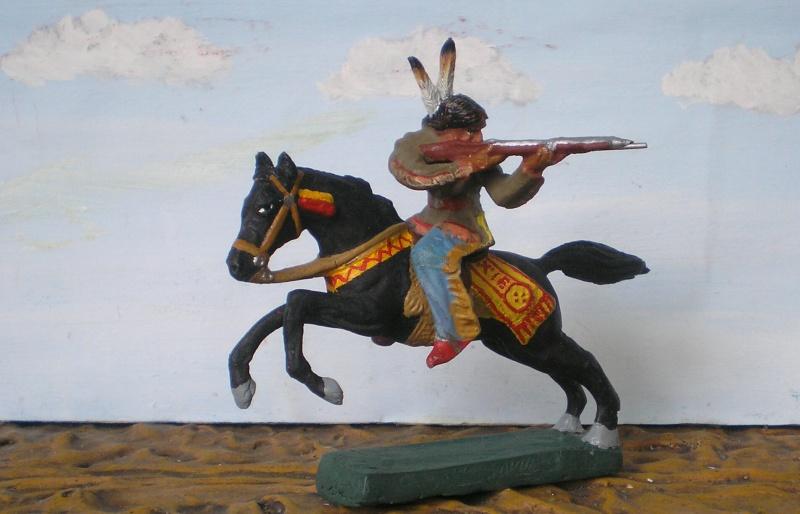 Bemalungen, Umbauten, Modellierungen – neue Indianer für meine Dioramen - Seite 5 Elasto75