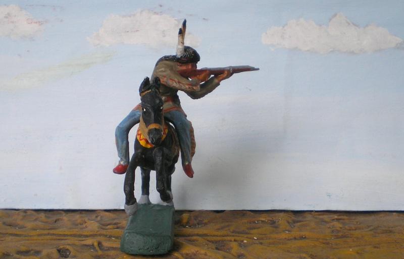 Bemalungen, Umbauten, Modellierungen – neue Indianer für meine Dioramen - Seite 5 Elasto76