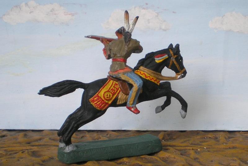 Bemalungen, Umbauten, Modellierungen – neue Indianer für meine Dioramen - Seite 5 Elasto79