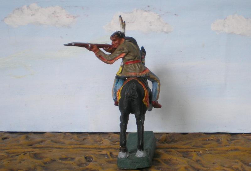 Bemalungen, Umbauten, Modellierungen – neue Indianer für meine Dioramen - Seite 5 Elasto80