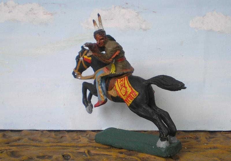 Bemalungen, Umbauten, Modellierungen – neue Indianer für meine Dioramen - Seite 5 Elasto81
