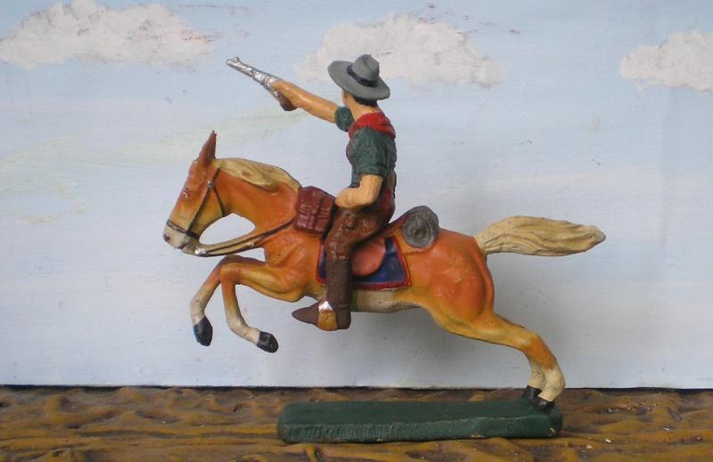 Bemalungen, Umbauten, Modellierungen - neue Cowboys für meine Dioramen - Seite 2 Elasto82