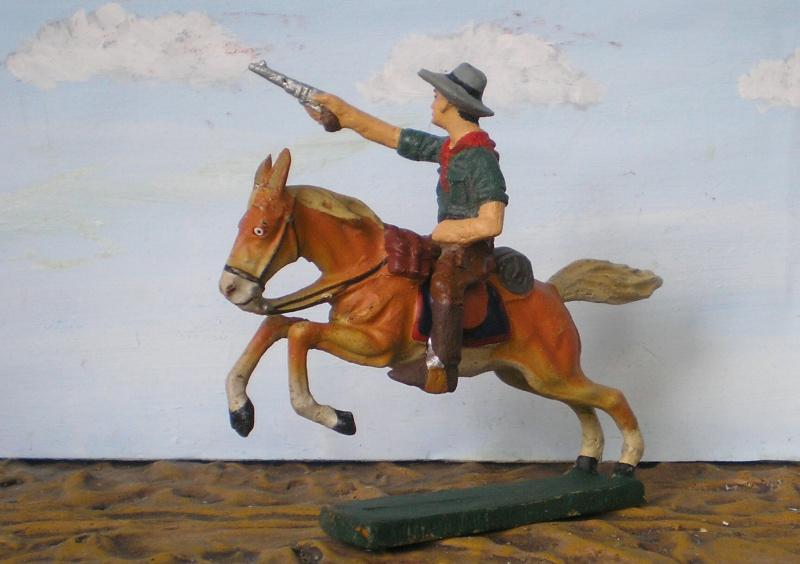 Bemalungen, Umbauten, Modellierungen - neue Cowboys für meine Dioramen - Seite 2 Elasto83