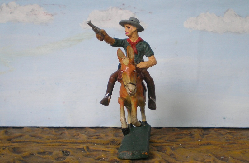 Bemalungen, Umbauten, Modellierungen - neue Cowboys für meine Dioramen - Seite 2 Elasto84