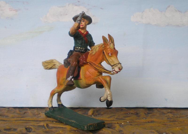 Bemalungen, Umbauten, Modellierungen - neue Cowboys für meine Dioramen - Seite 2 Elasto85