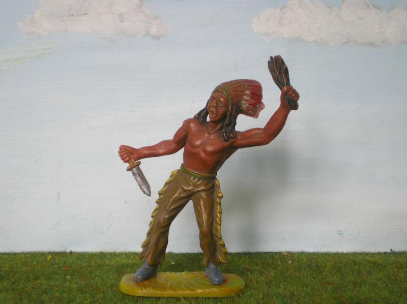 Bemalungen, Umbauten, Modellierungen – neue Indianer für meine Dioramen - Seite 14 Elasto90