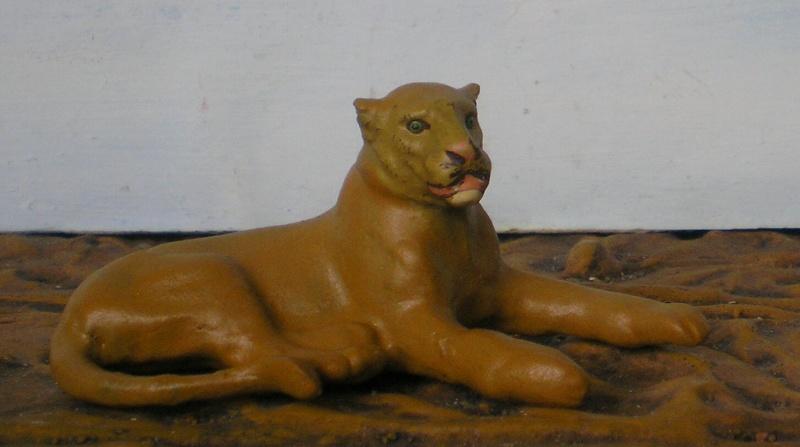 Bemalungen, Umbauten, Modellierungen - neue Tiere für meine Dioramen - Seite 2 Lineol10