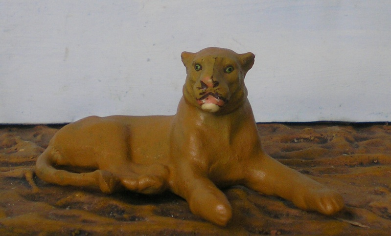 Bemalungen, Umbauten, Modellierungen - neue Tiere für meine Dioramen - Seite 2 Lineol11