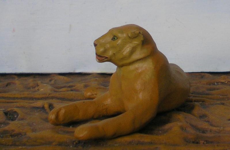 Bemalungen, Umbauten, Modellierungen - neue Tiere für meine Dioramen - Seite 2 Lineol13