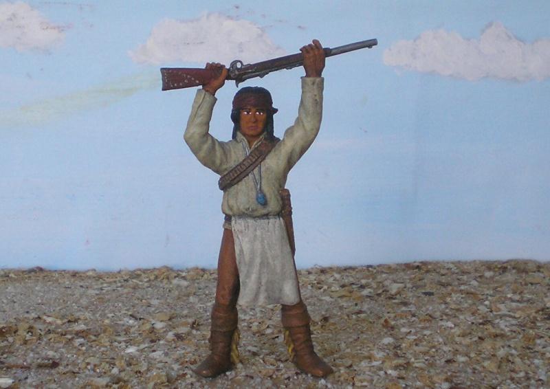 Bemalungen, Umbauten, Modellierungen – neue Indianer für meine Dioramen - Seite 5 S77_7518