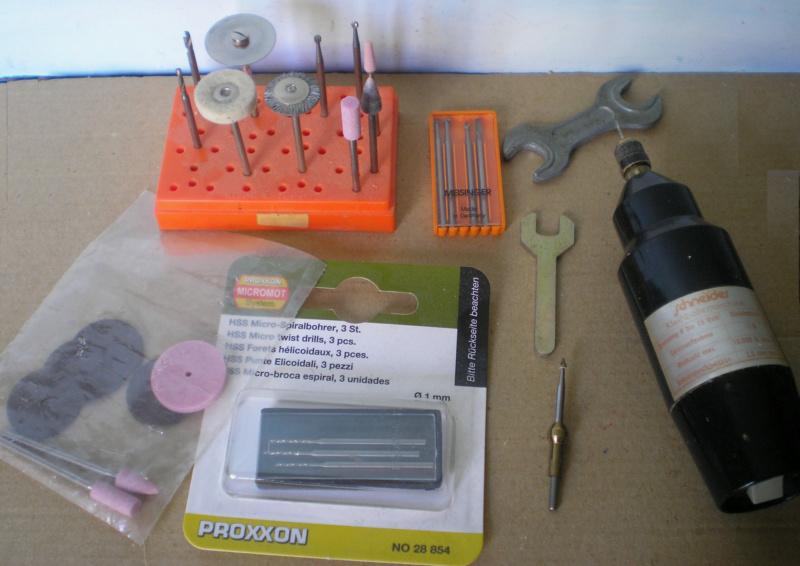 Bemalungen, Umbauten, Modellierungen - neue Cowboys für meine Dioramen - Seite 12 Werkze12