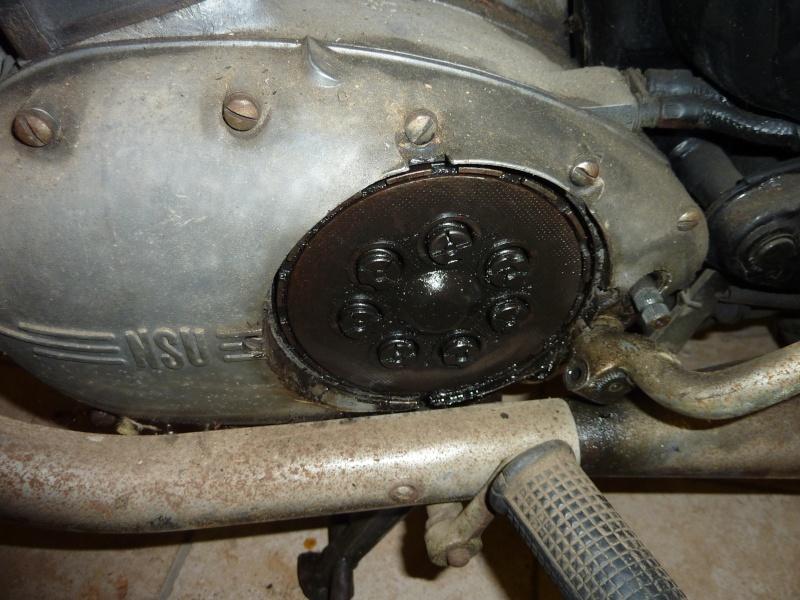 NSU 250 max spezial 1955: restauration. P1190411