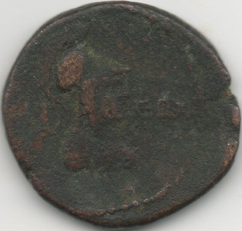 Bronze colonie romaine 210