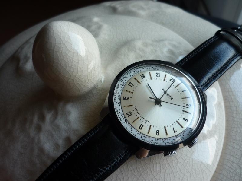 Raketa World Time : comment l'habiller ? P1090610