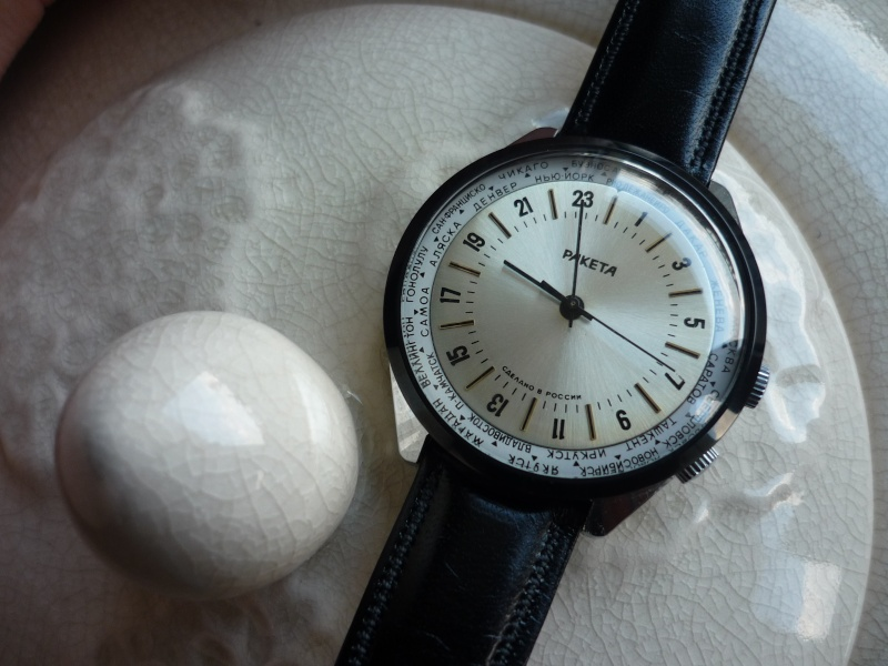 Raketa World Time : comment l'habiller ? P1090611