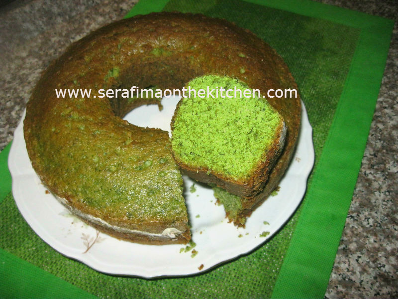кекс - Турецкий сладкий зеленый кекс со шпинатом Keks10