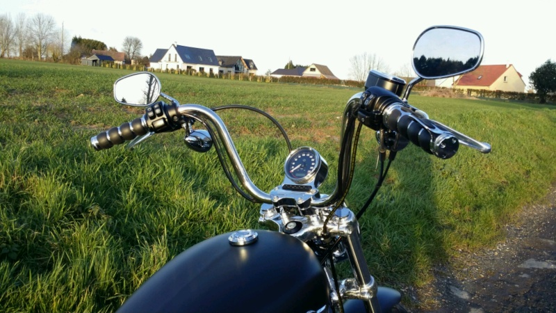 Poignees Kuryakyn - Iso grip - avec Throttle Boss 20160211
