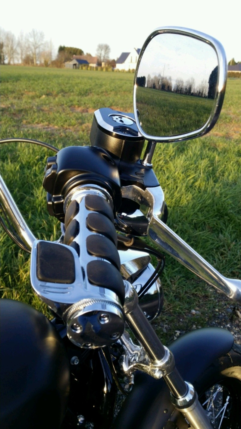 Poignees Kuryakyn - Iso grip - avec Throttle Boss 20160212