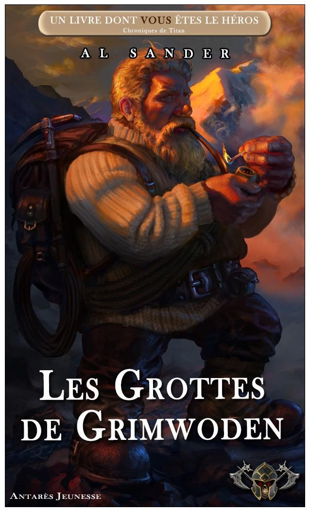 Chroniques de Titan / 10 -Les Grottes de Grimwoden  V5_gro10