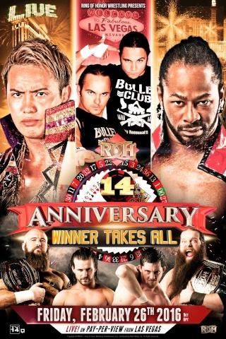 [Résultats] ROH 14th Anniversary du 26/02/2016 Roh_wi11