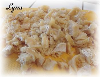 Casserole de morue salée et pommes de terre Morue10