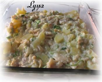 Casserole de morue salée et pommes de terre Morue210