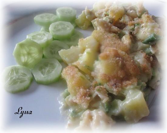 Casserole de morue salée et pommes de terre Morue310
