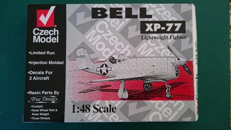 Bell XP-77    1/48 czech model Xp_410