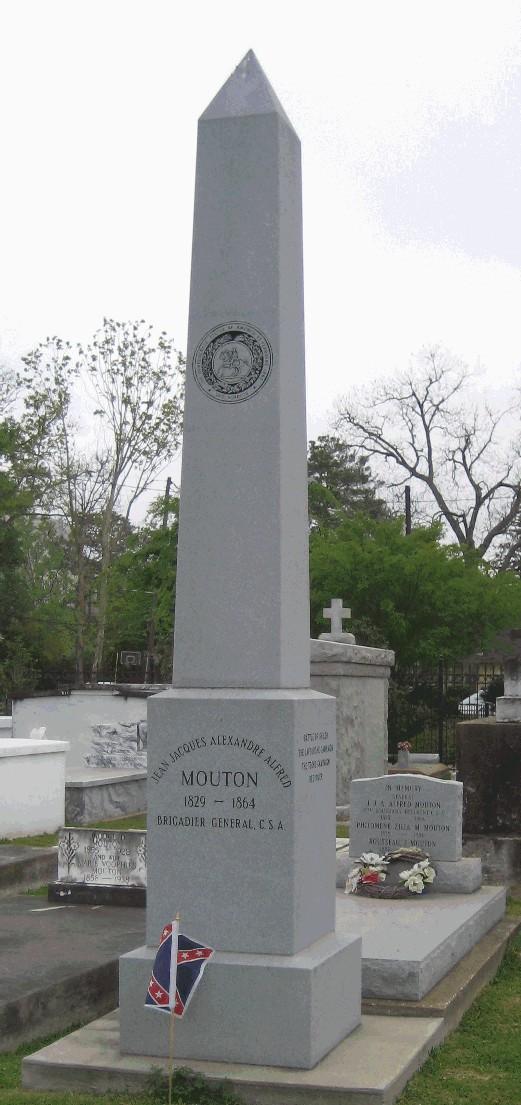 """Général CSA Alfred Mouton, un louisianais """"cajun"""" Alfred10"""