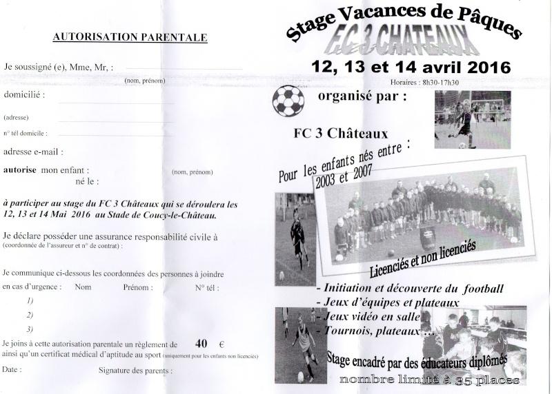 FC 3 Châteaux - Accueil Stage_10