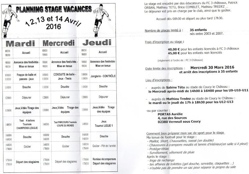 FC 3 Châteaux - Accueil Stage_11